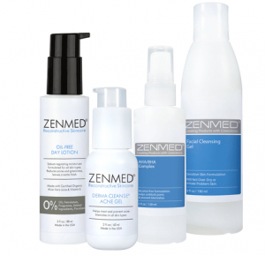 Acne therapy for combination skin products from Zenmed