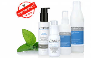 a picture of Zenmed acne products
