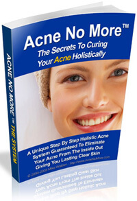 Acne No More eBook front cover by Mike Walden